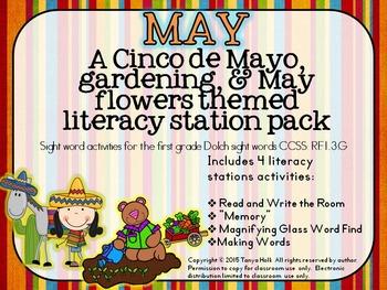 May Literacy Mini Packet