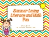 May Literacy and Math Centers