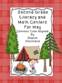 May Literacy and Math Centers-Second Grade Common Core Aligned