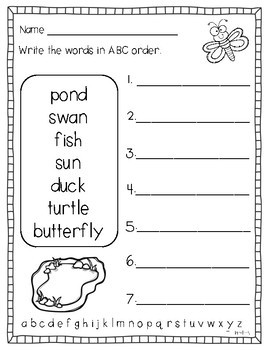 May Literacy and Math Printables