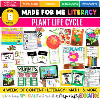 May Made For Me Literacy (Plant Life Cycle Coming April 15th)