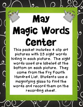 May Magic Words