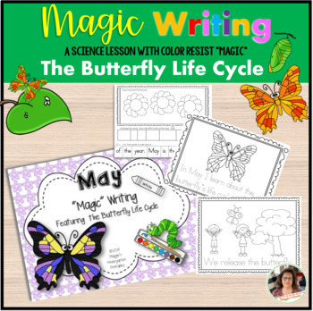 """May """"Magic"""" Writing Activities featuring the Butterfly Life Cycle"""