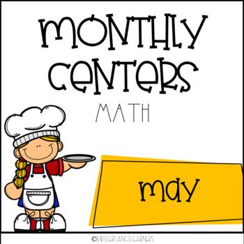 Kindergarten May Math Centers Fun Picnic Theme