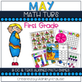 #lastday May Math Centers
