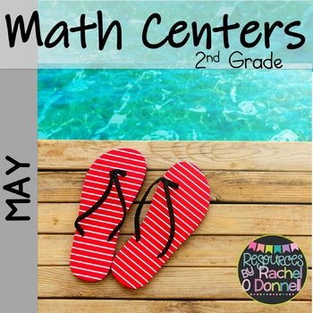 May Math Centers 2nd Grade