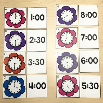 May Math Centers & Activities for 1st Grade