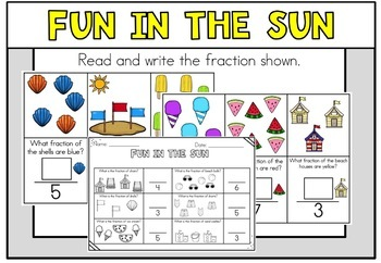 May Math Centers First Grade