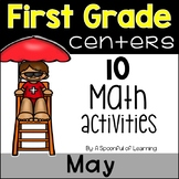 May Math Centers - First Grade