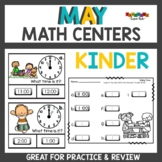May math centers kindergarten
