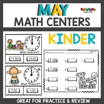 May Math Review Activities