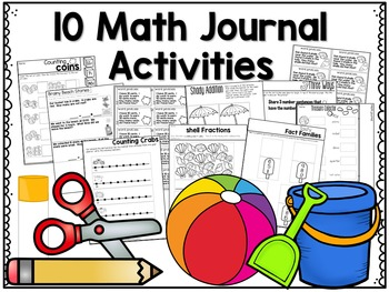 May Math Centers, Journals, and Printables