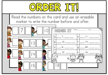 May Math Centers Kindergarten