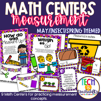 May Math Centers - Measurement