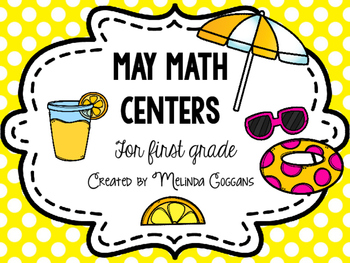May Math Centers for First Grade
