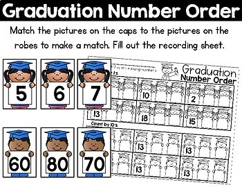 May Math Centers for Kindergarten