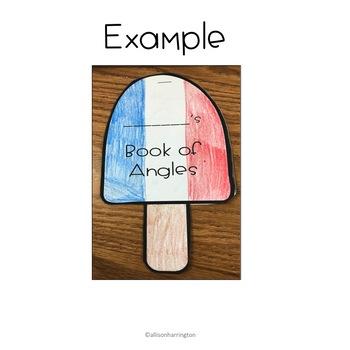May Math Craft and Flip Book: Measuring Angles