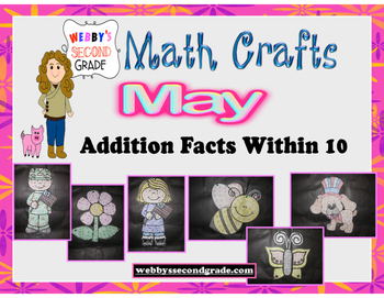 May Math Crafts  Addition Facts within 10