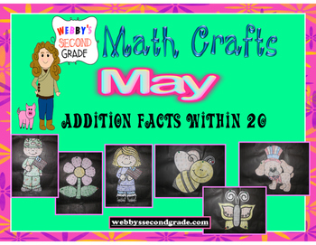 May Math Crafts  Addition Facts within 20
