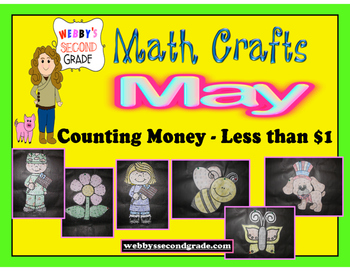 May Math Crafts  Counting Money Less than $1