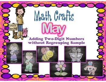 May Math Crafts Freebie