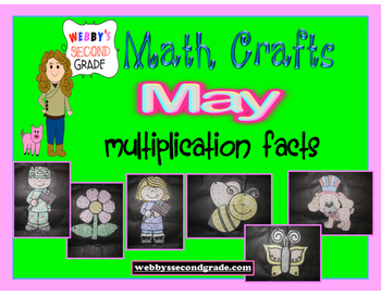 May Math Crafts  Multiplication Facts