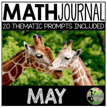 May Math Journal (Kindergarten - Common Core)
