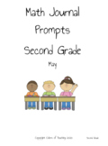 May Math Journal Prompts Second Grade
