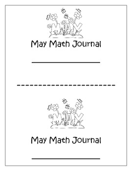 May Math Journal with Common Core Standards