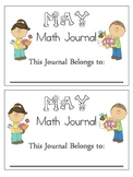 May Math Journals Common Core CCSS
