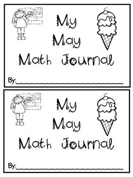 May Math Journals {First Grade}