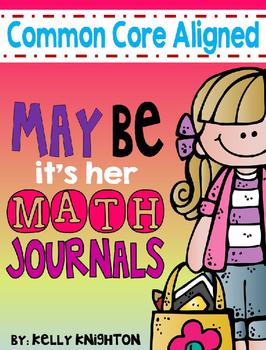 May Math Journals- Interactive
