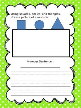 May Math Journals Sample