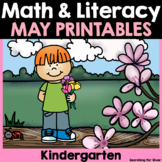 May Math & Literacy Printables {Kindergarten}