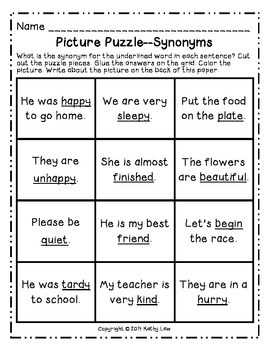 May Math & Literacy Picture Puzzles