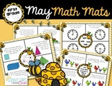 May Math Mats {first grade}