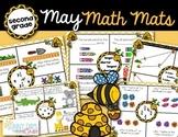 May Math Mats {second grade}