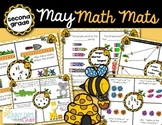 May Math Mats {second grade}