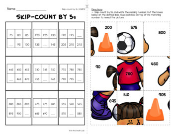May Math Picture Puzzles