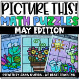 May Math Puzzles / End of Year Math Activities