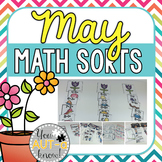 May Math Sorts - CCSS Aligned for Grades K-2