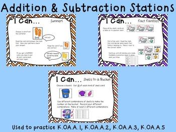 May Math Stations