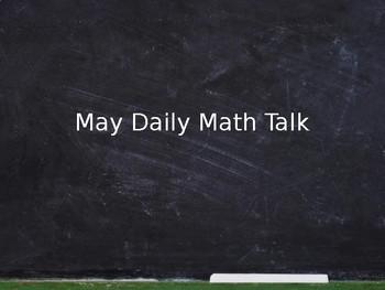 May Math Talks