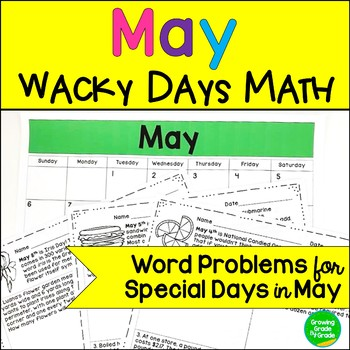 May Math Word Problems
