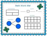 May Math Work Mat  1.OA.A.1  1.OA.C.6  1.OA.D.8