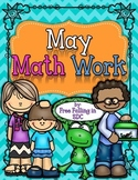 May Math Work (color by code pages for different math skills)