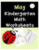 May Math Worksheets