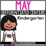 May Math and Literacy Centers for Kindergarten