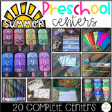 Summer Math and Literacy Centers Preschool: Beach & Ocean (Summer School)