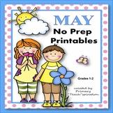 Math and Literacy 1st & 2nd Grade Printables - May